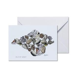 IW Shell Greetings Card