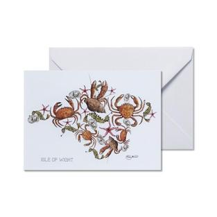 IW Crustacean Greetings Card