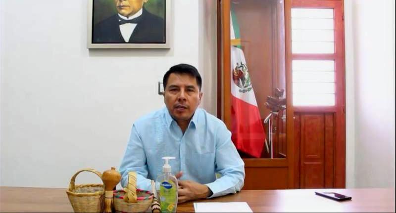 El presidente municipal constitucional de Villa de Zaachila, confirma tercer caso de COVID 19 en la población.