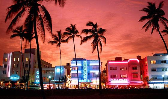 South Beach and its famus Ocean Drive