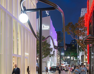 The exclusive shopping center of Disign Districtr