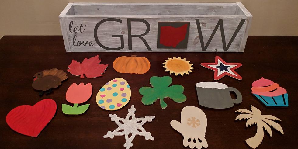 Crafts & Drafts- Centerpiece Planters