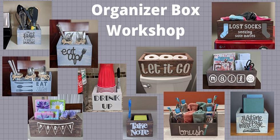 Organizer Box Workshop @ Nauti Vine 2/27