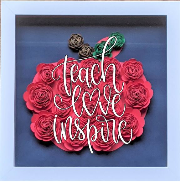 Blooming Box- Apple- teach love inspire.