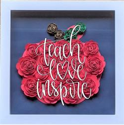 Blooming Box- Apple- teach love inspire.