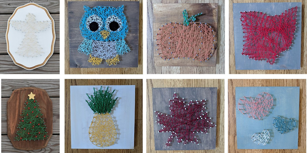 String Art 11/21 at Wine Down & Sweets
