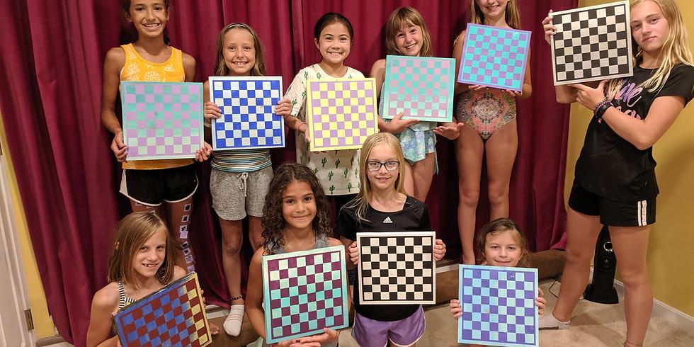 MLK Day Kids Checkerboard Workshop @ R Shea Brewery 1/20