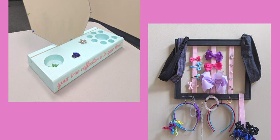 Kids Craft Camp WK2 Tues 7/14- Mirror Vanity & Beauty Organizer