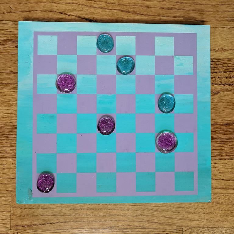 Kids Craft Camp Mon 7/27- Checkerboard