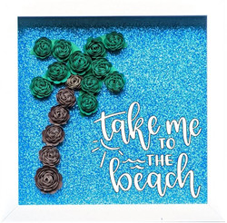 Blooming Box- Palm Tree- take me to the