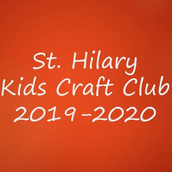 St. Hilary Kids Craft Club