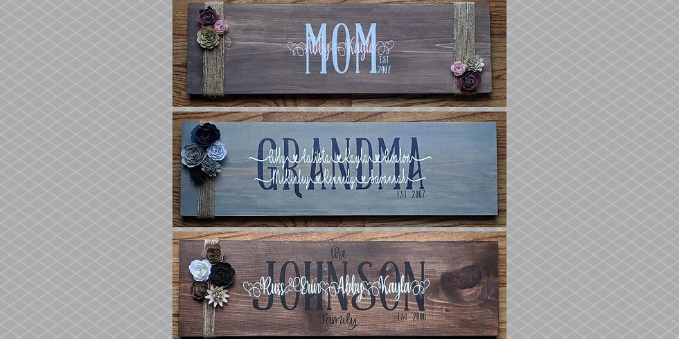 Family Sign Trial Class
