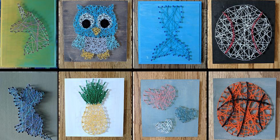 Kids Craft Camp WK1 Tues 7/7- String Art