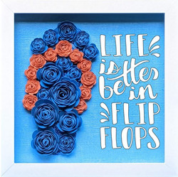 Blooming Box- Flip Flop- life is better