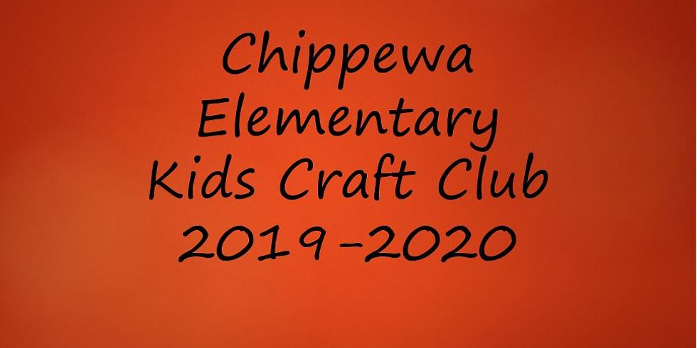 Chippewa Elem Kids Craft Club
