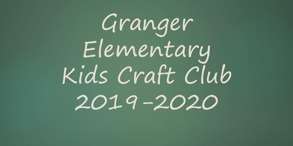 Granger Elem Kids Craft Club