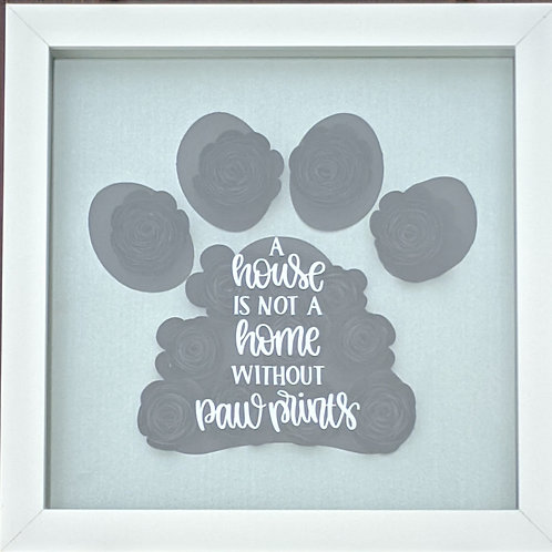 Blooming Box DIY Kit- Paw Print