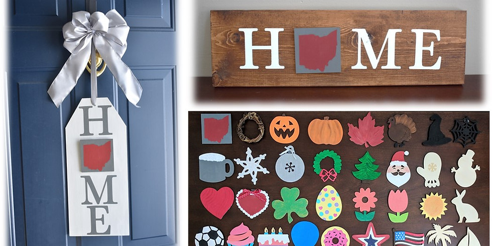 HOME Sign @ Wine Down & Sweets 2/25