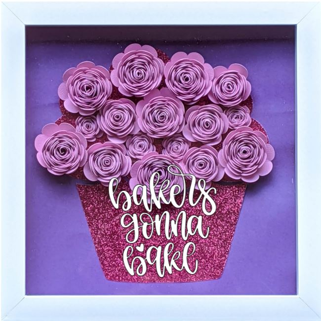 Blooming Box- Cupcake- bakers gonna bake