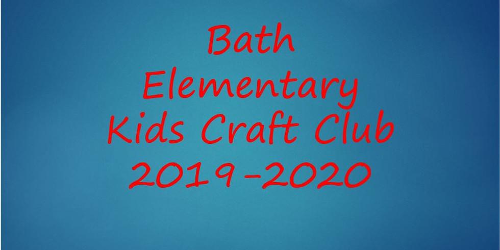 Bath Elem Kids Craft Club