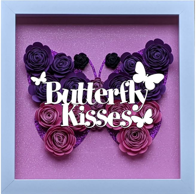 Blooming Box- Butterfly- Butterfly Kisse