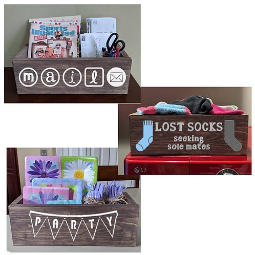 DIY Kit- Large Organizer Box