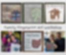 Family Fingerprint Art Workshop Collage.