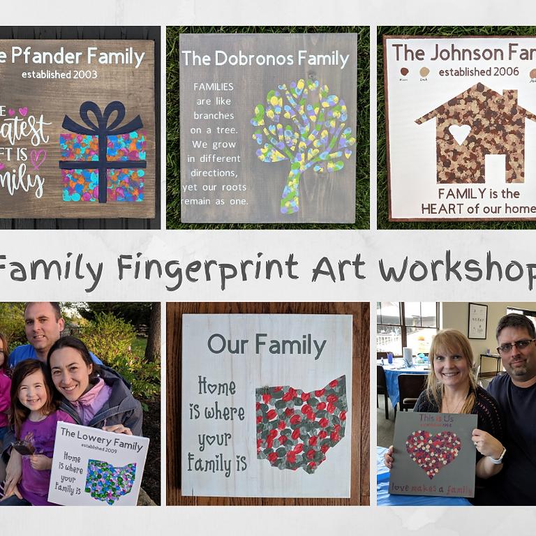 #girltime Family Fingerprint Art 4/25