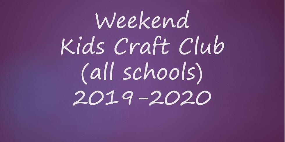 Weekend Kids Craft Club