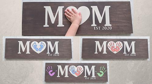 DIY Kit- Mom sign
