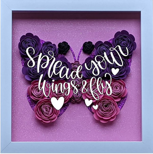 Blooming Box DIY Kit- Butterfly