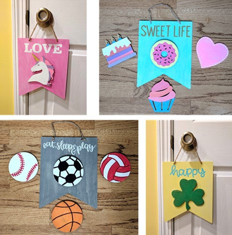 DIY Kit- Interchangeable Kids Sign
