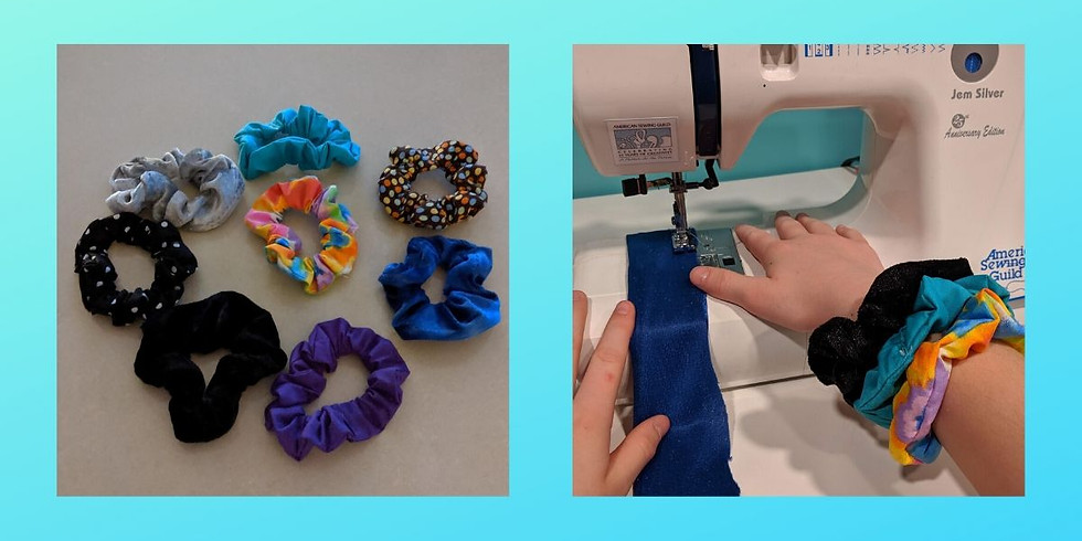 #girltime Mother/Daughter Scrunchie Sewing 1/26