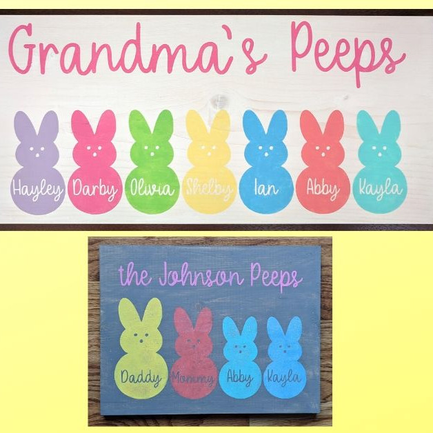 Family Peeps Signs @ Smuckers 3/19