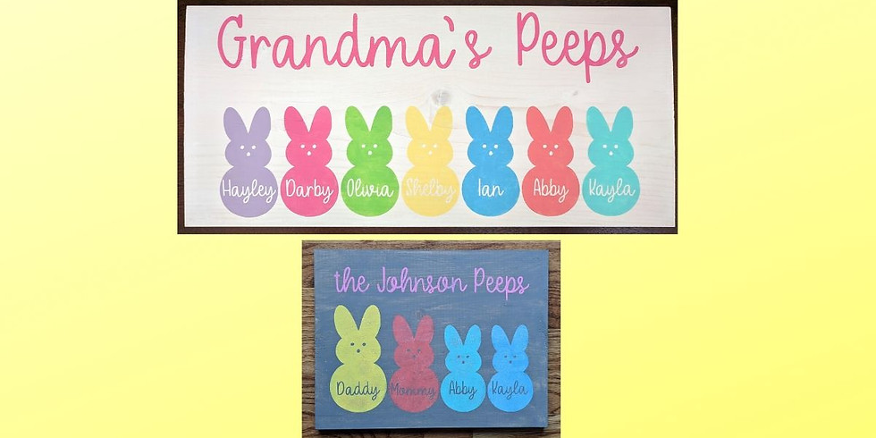 Family Peeps Signs @ Wolf Creek 3/5
