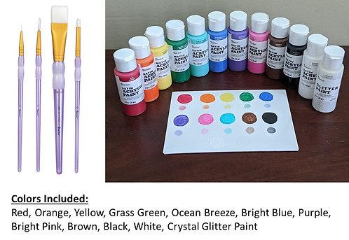 Paint and Brush Set