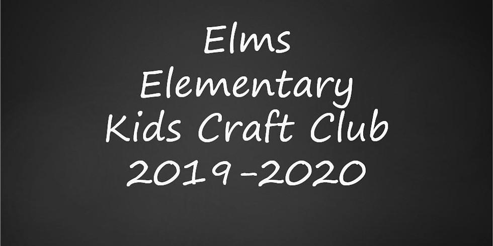 Elms Elem Kids Craft Club