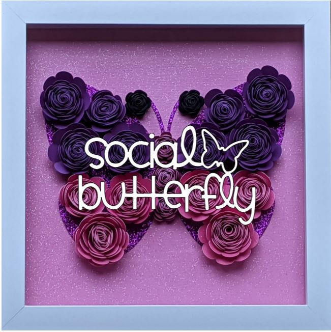 Blooming Box- Butterfly- Social Butterfl
