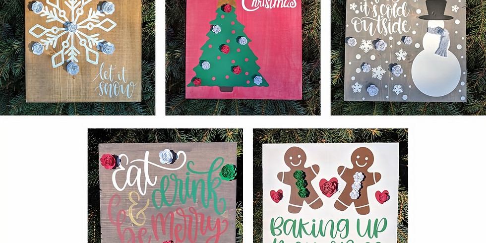 Blooming Boards 12/6 @ Sassy Stitches