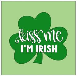 Shamrock- kiss me I'm Irish.JPG
