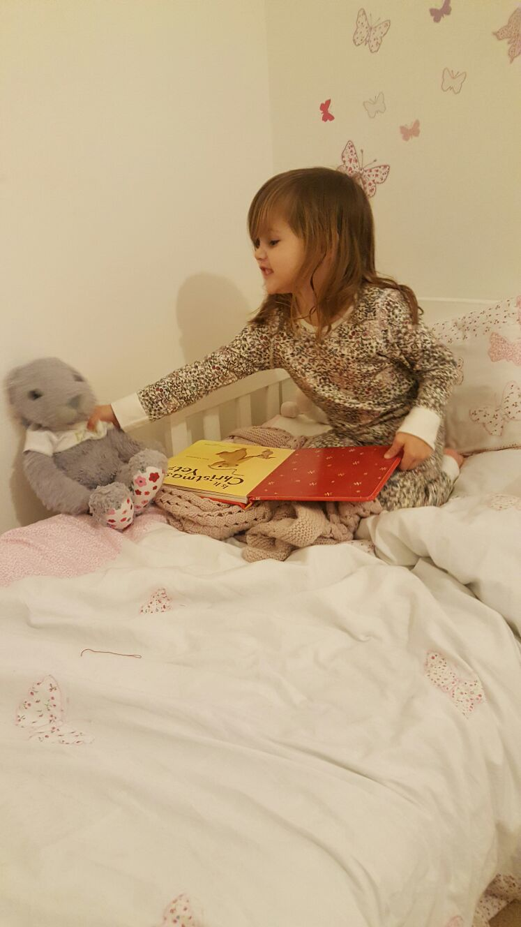 Ella-Rose and Rose the Rabbit