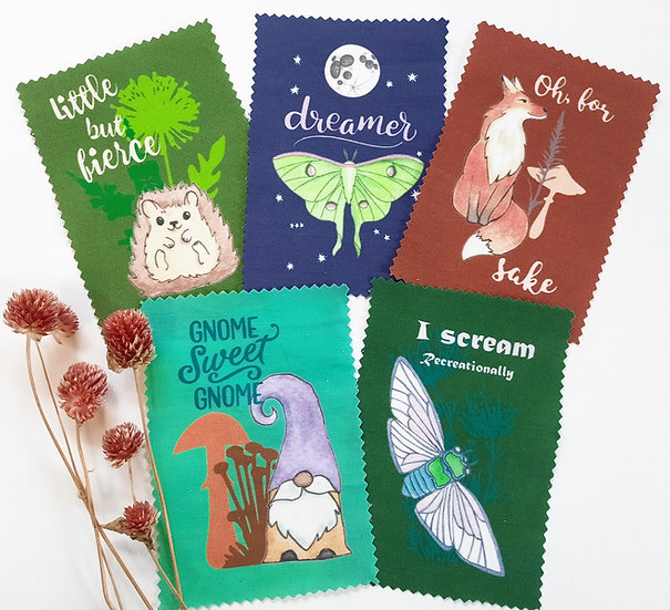 Woodland Wonder Limited Edition Patches