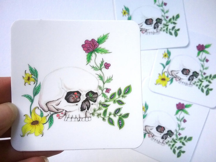 Skull 3-inch Stickers