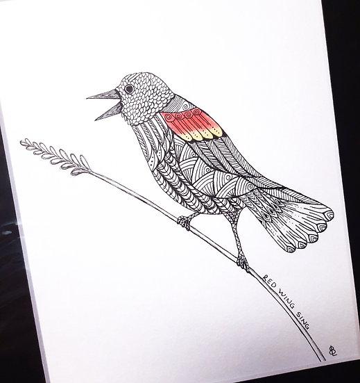 Redwing Black Bird Original