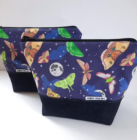 Moths in the Moonlight Boxy Bag