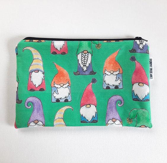 Gnome Sweet Gnome Zipper Bag