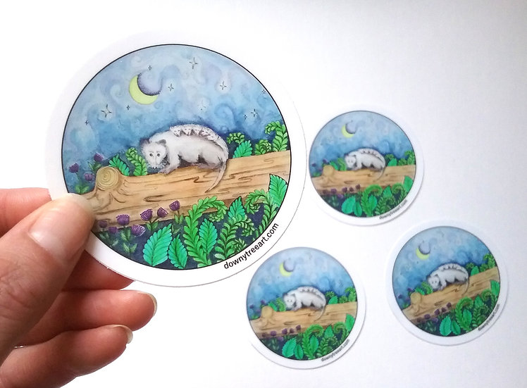 Lullaby Baby 3-inch Stickers