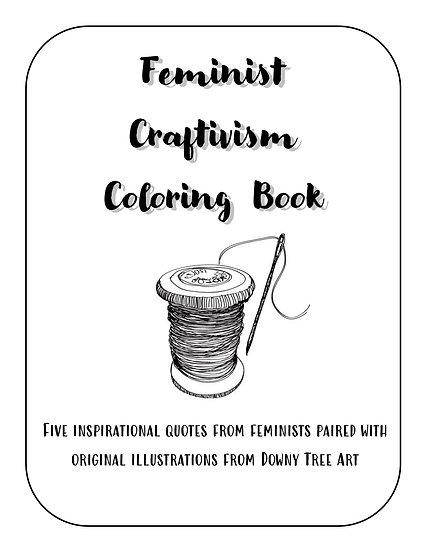 Craftivism Coloring Book