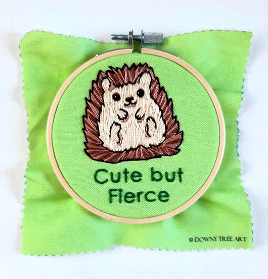 Cute but Fierce Embroidery Kit