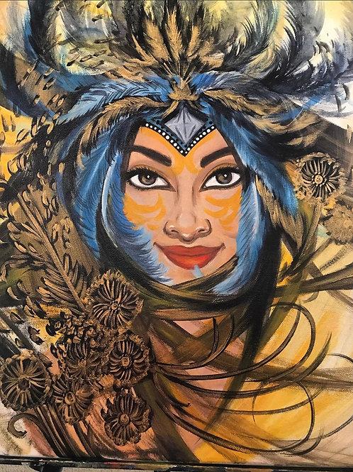 Air Goddess, Acrylic Print